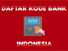 Daftar Kode Transfer Antar Bank Indonesia