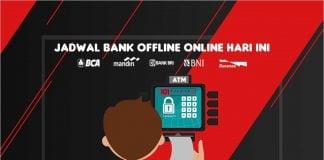 Jadwal Bank Offline Online BCA BNI CIMB Niaga Danamon Mandiri Indonesia